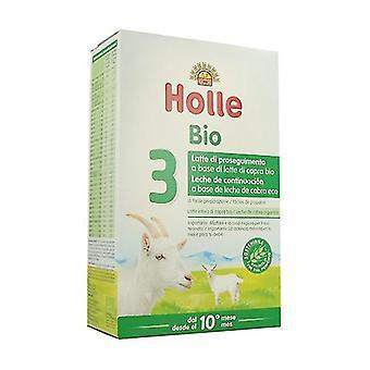 Organic Continuation Goat Milk 3 400 g of powder