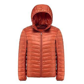 Men's Down Jacket Ultra Light Down Jacket Men Windbreaker Feather Parka Man