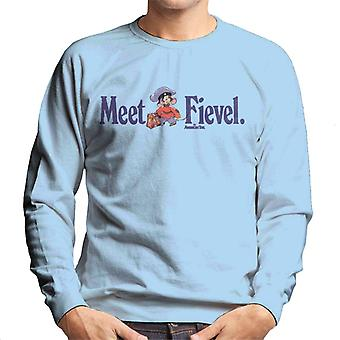 An American Tail Meet Fievel Mousekewitz Men's Sweatshirt