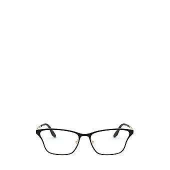 Prada PR 60XV top black / pale gold female eyeglasses