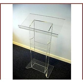 Clean And Transparent Acrylic Podium