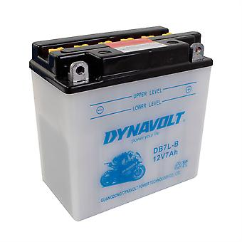 Dynavolt 12N73B Conventional Dry Charge Battery With Acid Pack