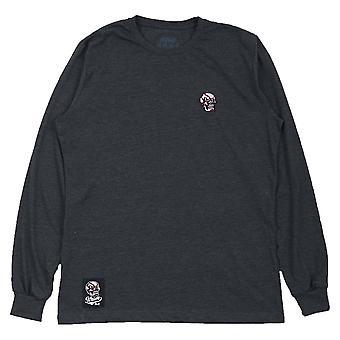 Scramble Skabuki Long Sleeve T-Shirt  Grey