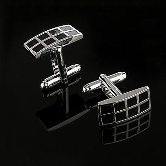 New Arrive Men's Shirt Cufflinks Metal Copper Enamel Links For Wedding Party