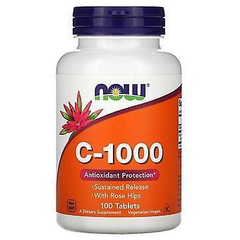 Maintenant Aliments, C-1000, 100 comprimés