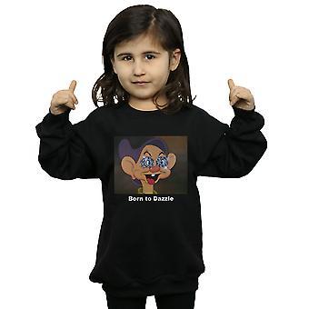 ディズニーガールズドーピー生まれまぶしいスウェットシャツ