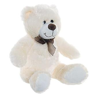 Teddy Bear Dekodonia Beige With bows Polyester (28 x 28 x 35 cm)