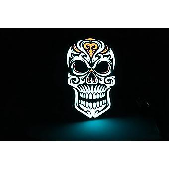 Light Up Luminous Led Halloween El Wire Mask Party Stage Performance Show