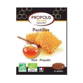 Röd propolis-honung organiskt piller 24 tabletter