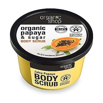 Organic Papaya and Sugar Body Scrub 250 ml