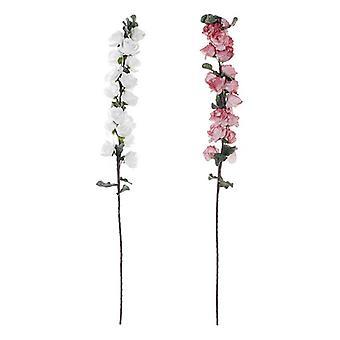 Dekorative Blume Dekodonia Pink EVA (Ethylvynilacetate) (2 Stück) (15 x 124 cm)