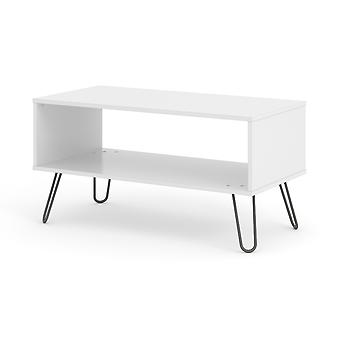 Augustine Blanc Table Basse Ouverte