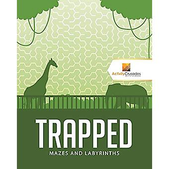 Trapped - Mazes and Labyrinths by Activity Crusades - 9780228221555 Bo