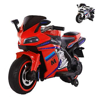 Moni Kids Electric Motorcycle Sport, LED-valot, Ajovalot, Musiikkitoiminto