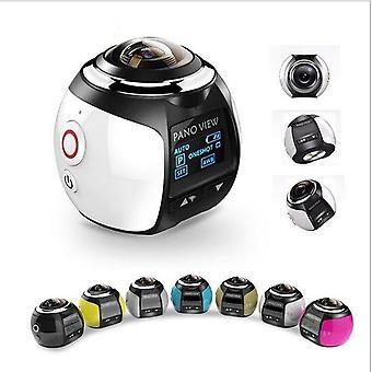 360 Kamera Hd Ultra Mini Panoramatická kamera, Wifi 16mp 3D športová kamera