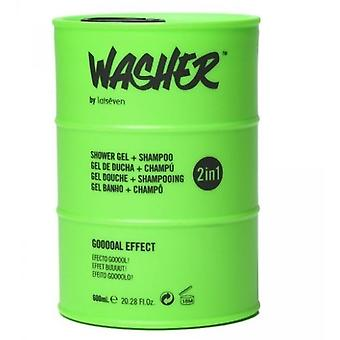 Laiseven Washer Green Shower Gel body and hair 600 ml