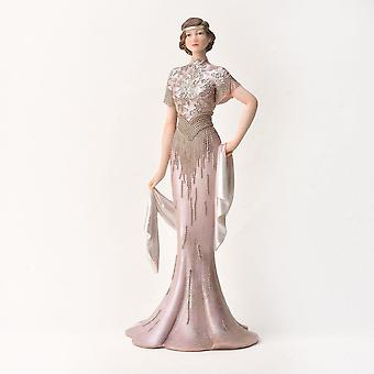 Widdop & Co. Broadway Belles Poppy Pink Blush Figurine