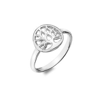 Sterling Silver Ring - Celtic Modern Tree Of Life
