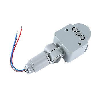 Automatický prepínač snímača pohybu, univerzálny prepínač svetla ac s LED diódou