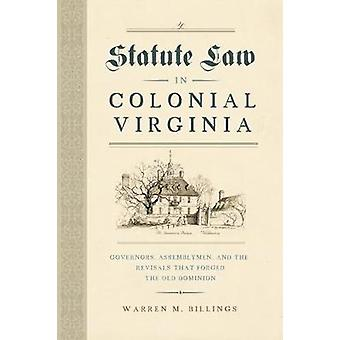 Statute Law in Colonial Virginia