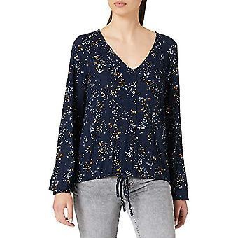 TOM SKRÄDDARE Denim 1022953 Crop T-Shirt, 26430-blå DOT, S Kvinna