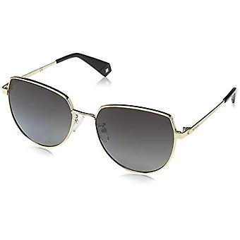 Polaroid Eyewear PLD 6073/F/S/X Sunglasses, Gold, 59 Women's