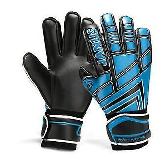 Professional Finger Protective Janus Belt Kids Football Goalkeeper Gloves