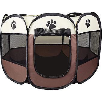 Welpen-Laufstall/Hundehütte Hunde-Box/Tier-Laufstall für Kleintiere (Meerschweinchen, Kanninchen,