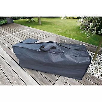 Natuurtuinmeubelenhoes voor kussens 128x57x37 cm