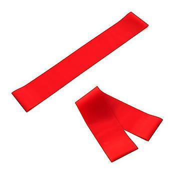 2Pcs 1pcs الأحمر اللياقة البدنية اليوغا اللاتكس 600 حلقة التوتر الفرقة az5921