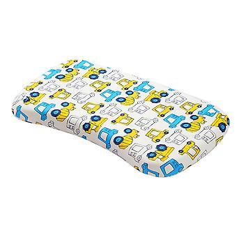 כרית תינוק לשינה, כרית לעיצוב ראש תינוק למנוע תסמונת ראש שטוח, עם דפוס המכונית