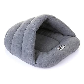 Lovely Winter Warm Slippers Style Pet Bed