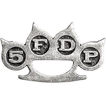 Five Finger Death Punch - Rystysen duster-pin-merkki