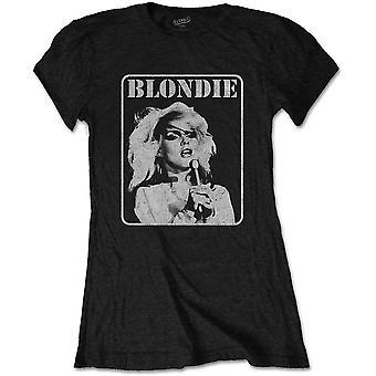 Blondie - Presente Poster Women's Medium T-Shirt - Black