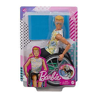Ken Doll #167 avec fauteuil roulant et rampe