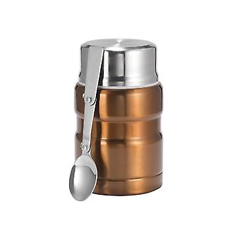 Stainless Steel Insulation Lunch Box For Hot Food With Containers 500ml Vacuum Flasks Thermo Mug Thermocup Silver