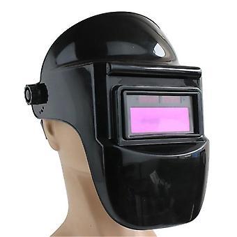 Welding Glasses Solar Powered Auto Darkening Helmet Mask Adjustable Shade