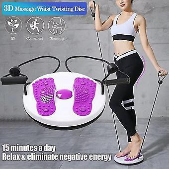 Twist Waist Disc Board Torsion Magnetisk Massage Plate Aerob Motion Foot Fitness Yoga Training