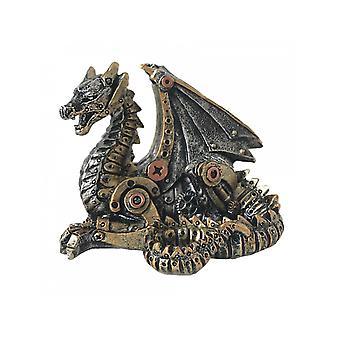 Estatua mecánica del dragón de la cría