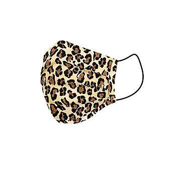 Hygienic Reusable Fabric Mask Adult Leopard