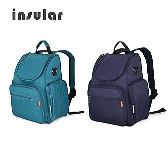Insular Double-shoulder Maternal And Child Multifunctional Waterproof Bag