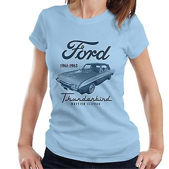 Ford Thunderbird British Classic Naisten t-paita