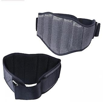 Waist Trimmer Belt, Sweat Wrap,  Low Back And Lumbar Support(Grey)