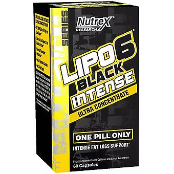 Lipo-6 Black Intense Ultra Concentrate - 60 caps