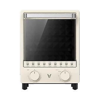 12l- Mini horno de latón eléctrico empotrado para pan para pizza sartén