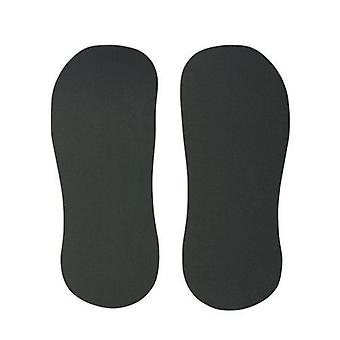 DEO Disposable Sticky Feet for Salon & Spa - Black - Slip Resistant - Pack of 25