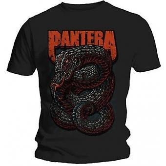 Pantera Giftig Mens Svart T-shirt: Medium