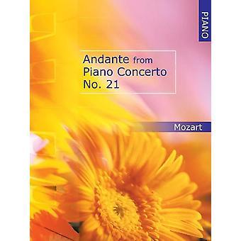 Andante från pianokonsert nr 21 för piano