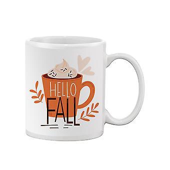 Hello Fall Mug Mug -SPIdeals Designs