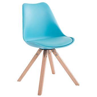 Esszimmerstuhl - Esszimmerstühle - Küchenstuhl - Esszimmerstuhl - Modern - Blau - Holz - 47,5 cm x 55,5 cm x 83 cm